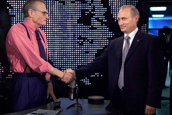 Putin expresa condolencias por muerte de Larry King