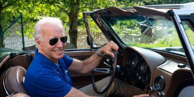 ¿Ser presidente de Estados Unidos o manejar un Corvette 1967? El dilema de Joe Biden