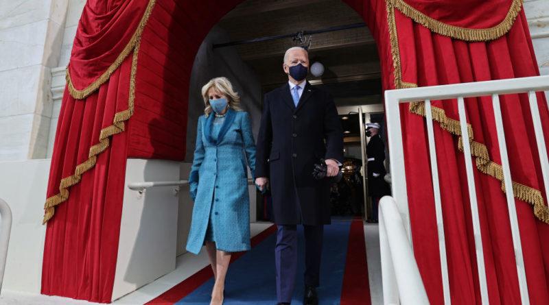 The Empty Inauguration of Joe Biden