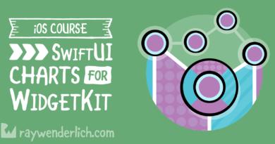 SwiftUI Charts for WidgetKit | raywenderlich.com