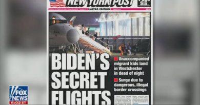 Under the Radar: Nets Skip Biden's Secret Night Flights for Illegals